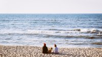 odpoczynek na plaży